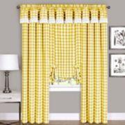 Buffalo Check Window Curtain Treatments