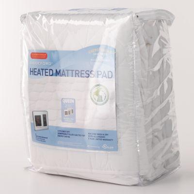 biddeford heated mattress pad