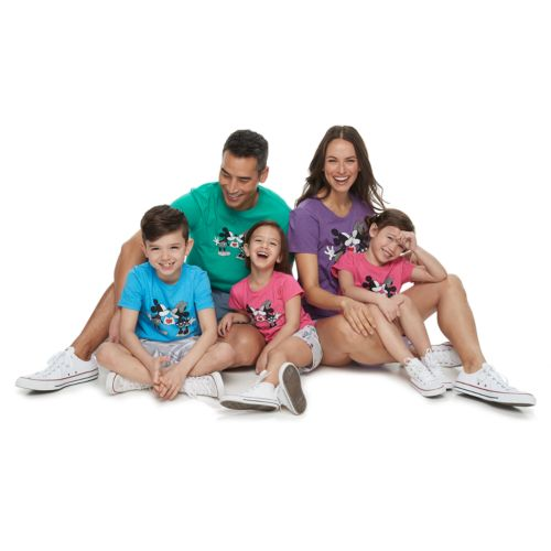Disney's Mickey & Minnie Mouse Graphic Tops by Family Fun