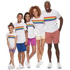 c758988c8af Family Fun Rainbow Pride Graphic Tops