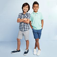 Boys 4-12 SONOMA Goods for Life™ Spring Pop Up Shop Mix & Match Outfits
