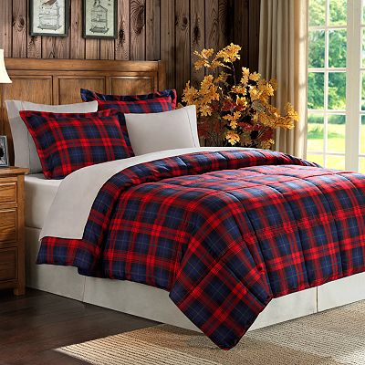 Premier Comfort Maclachlan Plaid Down-Alternative Comforter Set