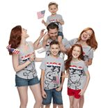 "Family Fun Peanuts Snoopy ""USA"" Graphic Tops"