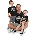 "Family Fun Daddy & Me ""Player Start"" Graphic Tees"