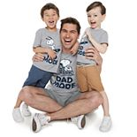 Family Fun Daddy & Me Peanuts Snoopy Graphic Tees