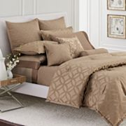 Simply Vera Vera Wang Interlocked Duvet Cover Set