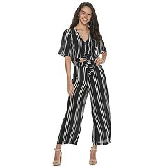 Live To Be Spoiled Tie Front Top Matching Set