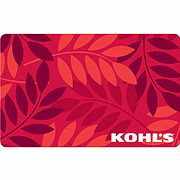 Red Leaves Gift Card