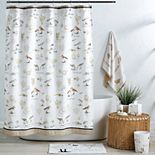 Destinations Bird Haven Shower Curtain Collection