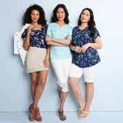 Women's Croft & Barrow® Summer Outfits