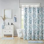 Madison Park Lyla Botanical Print Shower Curtain Collection