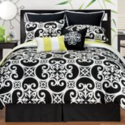 Sunset and Vines Kennedy 8-pc. Comforter Set