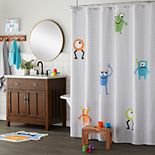 Saturday Knight, Ltd. Monsters Shower Curtain Collection