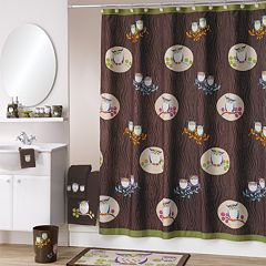 Allure Home Creations Awesome Owls Bathroom Accessories Collection by
