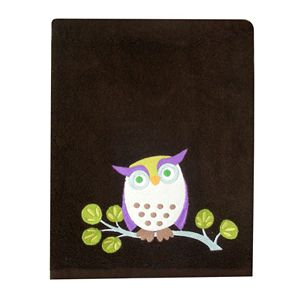 Allure Home Creations Awesome Owls Bath Towels