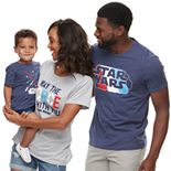 Family Fun Star Wars Graphic Tops