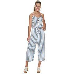 Candie's® Stripe Tie Front Cami Matching Set
