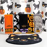 Halloween Cat Shower Curtain Collection