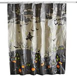 Halloween Dark Scenic Shower Curtain Collection