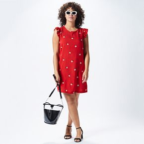 Women's Red Hot Summer Outfit