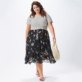 Plus Size Print Edition Outfit