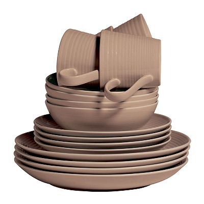 Royal Doulton Maze Taupe Dinnerware Collection