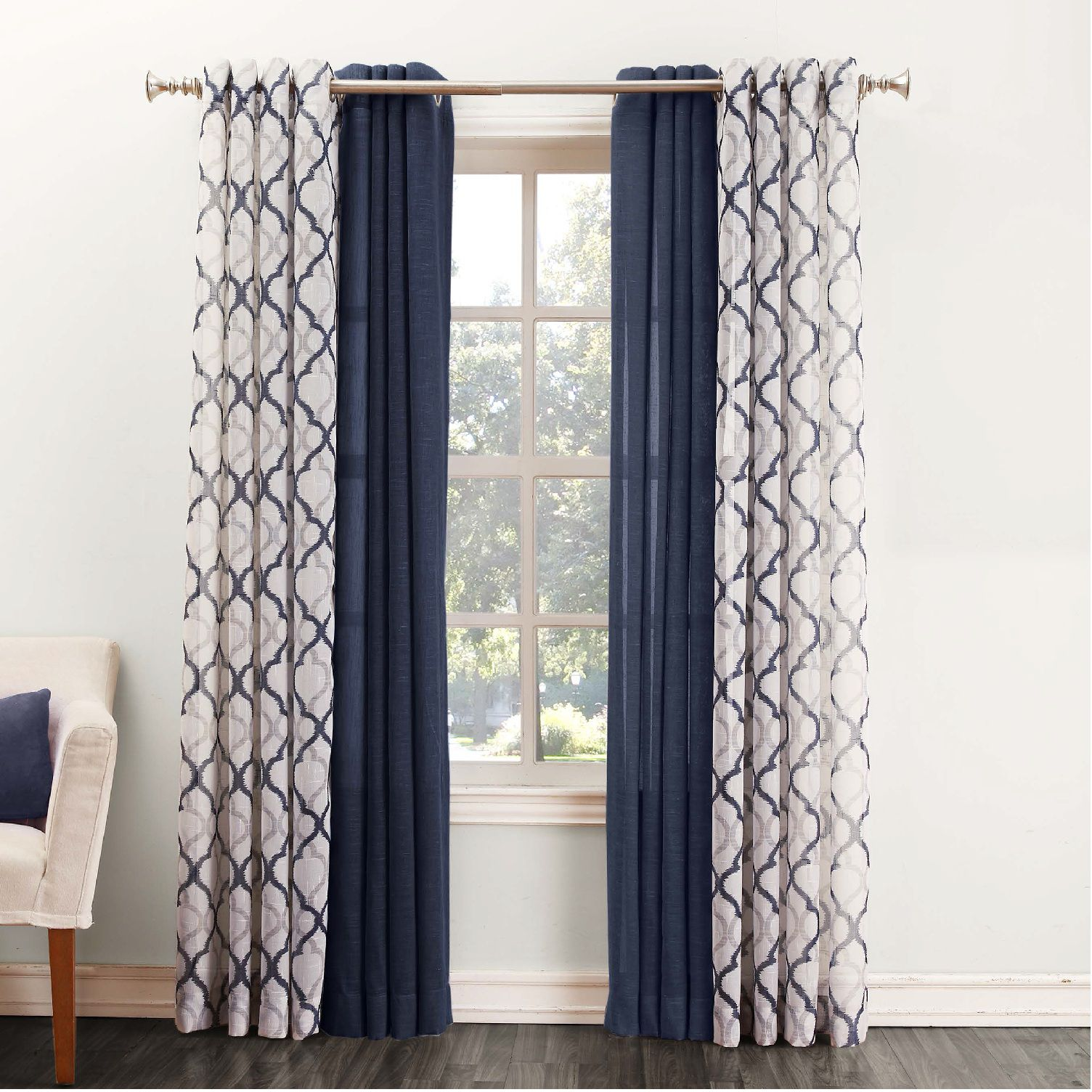 SONOMA Goods for Life™ Ayden u0026 Lona Curtains