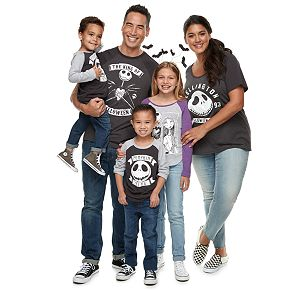 Disney's Nightmare Before Christmas Halloween Graphic Tees by Family Fun