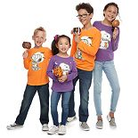 Family Fun Peanuts Snoopy Halloween Graphic Tops