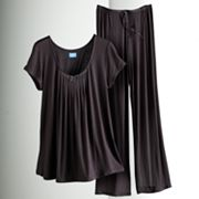 Simply Vera Vera Wang Basic Luxury Pajama Separates