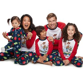 "Disney / Pixar's Toy Story 4 ""Toy to the World"" Pajamas by Jammies For Your Families"