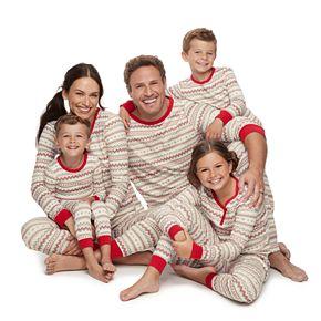 LC Lauren Conrad Jammies For Your Families Fairisle Pajamas