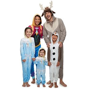 Disney's Frozen One-Piece Character Pajamas by Jammies For Your Families
