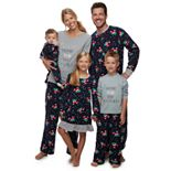 Jammies For Your Families Home For The Holidays Family Pajamas Collection