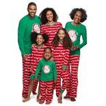 Jammies For Your Families Santa Ho Ho Ho Family Pajamas Collection