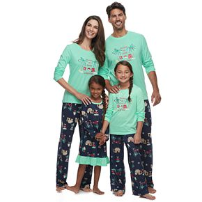 Jammies For Your Families Flip Flop Holiday Family Pajamas Collection