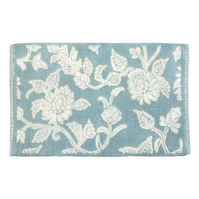 Ultra Spa Floral Swirl Bath Rug