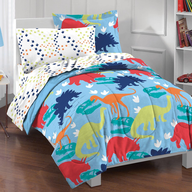 Merveilleux Dream Factory Dinosaur Bed Set