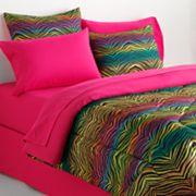 Veratex Rainbow Zebra Bedding Coordinates