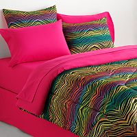 Veratex Rainbow Zebra Bedding Coordinates