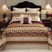 Croft and Barrow 8-pc. Regalia Striped Reversible Comforter Set
