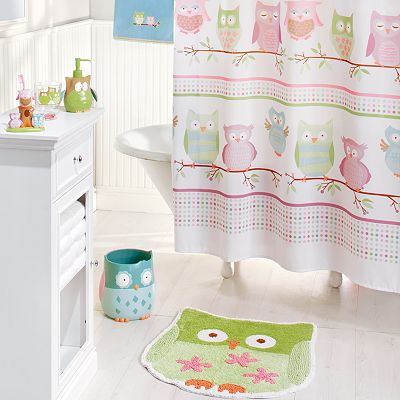 Jumping Beans Owl Friends Bath Accessories