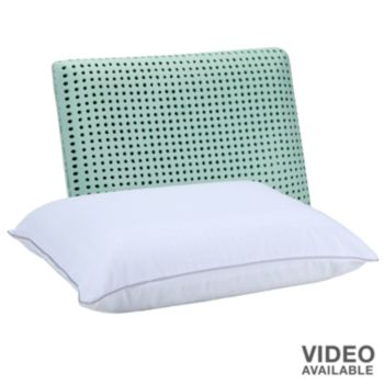 Authentic Comfort Caress Memory Foam Pillow