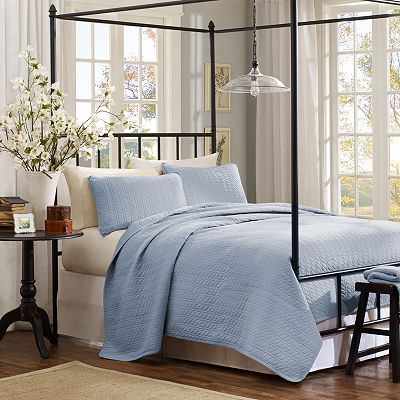 Hadley Cable-Knit 3-pc. Coverlet Set