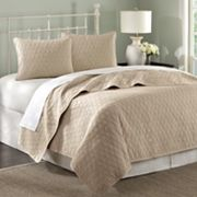 Hampton Hill Zen Quilted Coverlet Set