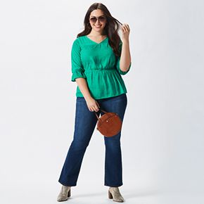 Plus Size Throw It Back Outfit