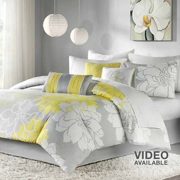 comforter set go for contemporary charm with this comforter set its