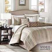 Madison Park Rollins 7-pc. Comforter Set