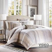Madison Park Decator 6-pc. Duvet Cover Set