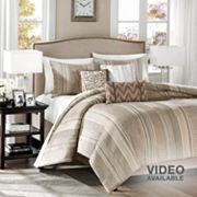Madison Park Rollins 6-pc. Duvet Cover Set